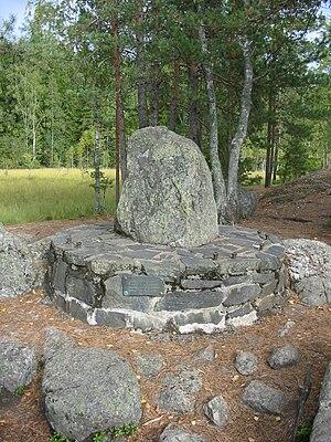Quadripoint - Kuhankuono border marker