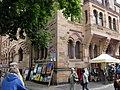 Kunst in der oberen Altstadt in Freiburg, seit 1979 immer Anfang September, hier vor dem Ordinariat 2.jpg