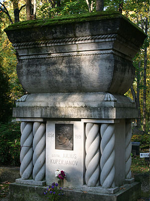 Raadi cemetery - The Julius Kuperjanov monument