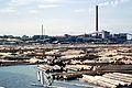 L' usine de transformation de bois Kotkamills Oy à Kotka.jpg