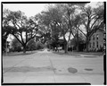 LOOKING NORTH ON FORSYTH AVENUE FROM STATUE. - Fort Riley, Riley, Riley County, KS HABS KANS,81-FORIL,2-12.tif