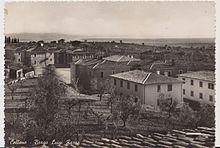 La Borgata Luigi Razza in una foto del 1956