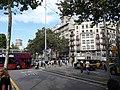 La Gran Via col·lapsada per la protesta dels taxis 20180727 174553.jpg