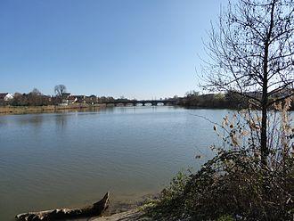 Meurthe (river) - The Meurthe in Nancy.