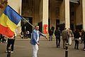 """La Paris participând la protestul """"Uniţi salvăm Roşia Montană"""".jpg"""