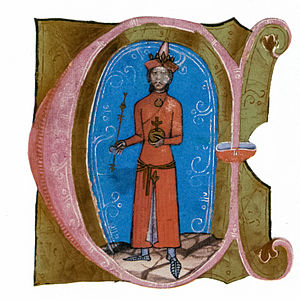 Eurasian (mixed ancestry) - King Ladislaus IV of Hungary. Ladislaus' mother was the daughter of a Cuman chief.