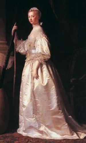 Lady Mary Coke - Lady Mary Coke, by Allan Ramsay.