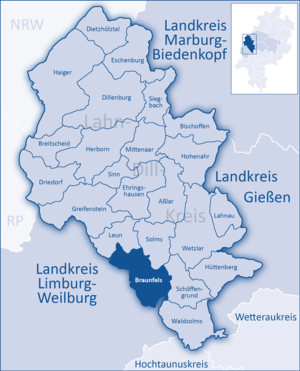 Braunfels - Image: Lahn Dill Kreis Braunfels