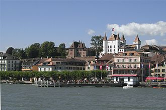 Nyon - Nyon in late-August 2007