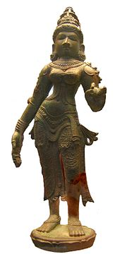 Sculpture of Lakshmi