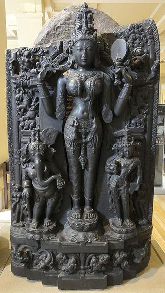 Pala Empire - Image: Lalita statue