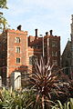 Lambeth Palace, London home of the Archbishop of Canterbury, from Lambeth roundabout.jpg
