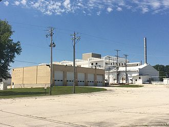 Denmark, Wisconsin - Former Land O' Lakes plant in Denmark, Wisconsin.