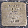Landshut Stolperstein Sophie Marx, Sophie.jpg