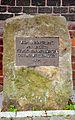 Lange Straße 90, Eldagsen, Region Hannover, 1995 Gedenkstein zur Erinnerung für unsere jüdischen Mitbürger der Stadt.JPG
