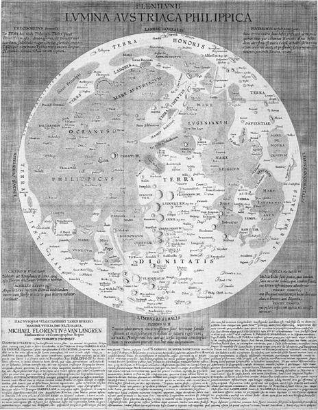 File:Langrenus map of the Moon 1645.jpg