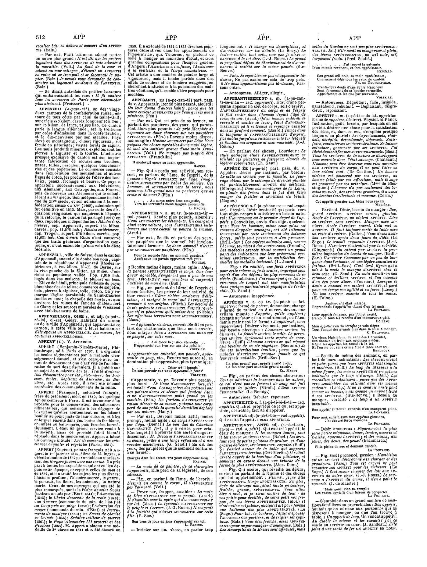 Salle De Bain Marron Et Beige ~ Page Larousse Grand Dictionnaire Universel Du Xixe Si Cle Tome 1