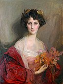 Laszlo - Winifred Anna Cavendish-Bentinck (née Dallas-Yorke), 6th Duchess of Portland, 1912.jpg