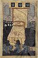 Le cercueil contenant le corps d'Anne de Bretagne est caché sous le lit de parade.jpg