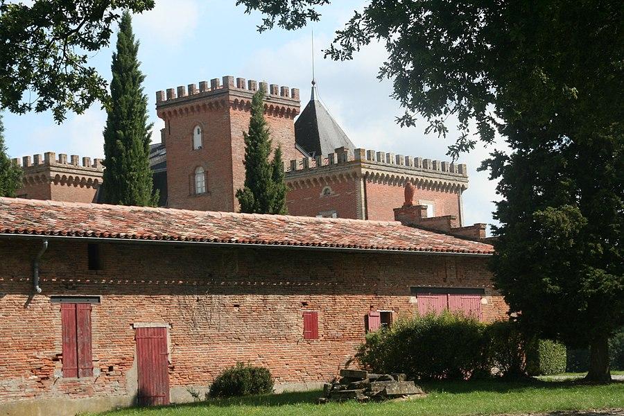 Le château de Mondouzil
