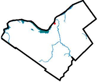 LeBreton Flats - Image: Lebreton Flats locator map