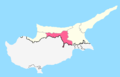 Lefkoşa District Map.png