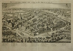 Leipzig - Leipzig in the 17th century
