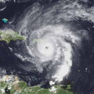 Category 4 Atlantic hurricane in 1999