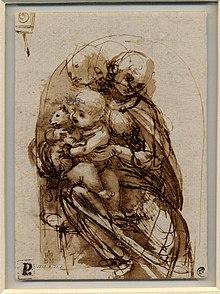 Madonna Del Gatto Leonardo Wikipedia