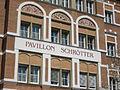 Leopold Schrötter von Kristelli - Lungenheilanstalt Alland - Pavillion Schrötter - Detail.JPG