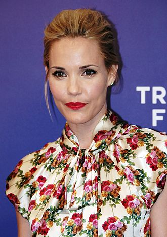 Leslie Bibb - Bibb at the 2011 Tribeca Film Festival premiere of A Good Old Fashioned Orgy