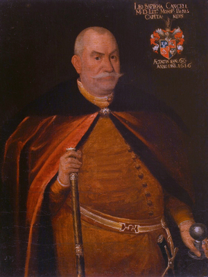 Lithuanian Metrica - Grand Chancellor of Lithuania Lew Sapieha. Under his supervision the Lithuanian Metrica was reorganized.