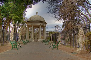 Lezama Park - Gazebo and sculpture garden