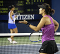 Li Na and Ioana Raluca Olaru at the 2009 US Open.jpg