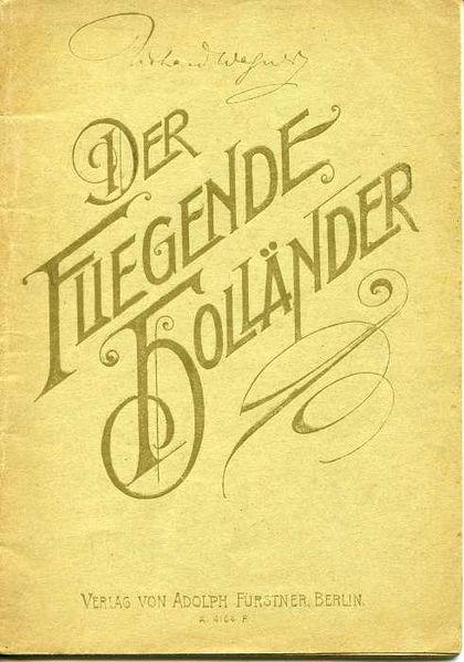 Fichier:Libretto Der fliegende Holländer 1868.jpg