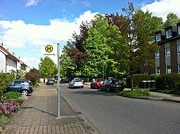 Lichtenbuscher Weg in Aachen