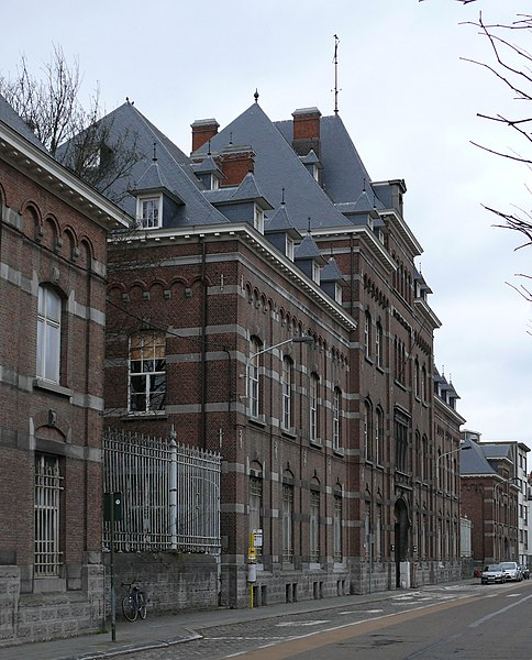 The former barracks Dungelhoeff at the Baron Opsomerlaan in Lier, Belgium.