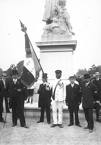 Ligue des Patriotes - Ligue des Patriotes members in 1912.