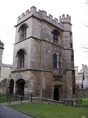 Lincoln Medieval Bishop's Palace - Image: Lincoln Bishop's Palace