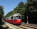 Linie 66 Schnellstrassenbahnstrecke zwischen Rothneusiedl u Per-Albin-Hansson-Siedlung Ost E2.JPG