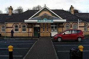 Lisburn - Lisburn railway station