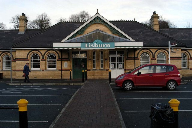 Lisburn Station - geograph.org.uk - 616020