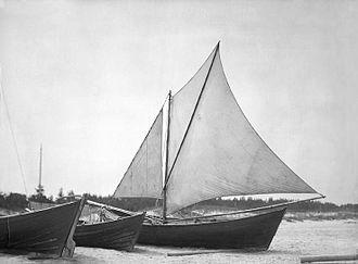 Livonians - Lõja, Livonian fishing boat