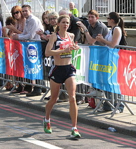 Liz Yelling, London Marathon 2011.jpg