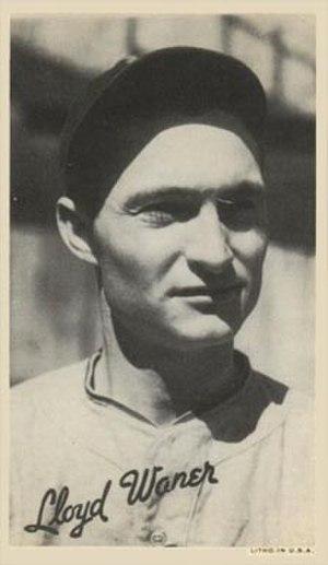 Lloyd Waner - Image: Lloyd Waner Card