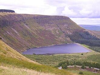 Rhondda - Llyn Fawr Reservoir in 2008