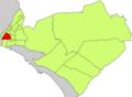 Localització de Pere Garau respecte del Districte de Llevant.png