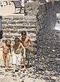 Locals on beach at Playa Blanca, Lanzarote (2667709302).jpg