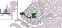 Location of Rotterdam