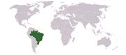 Localización de Brasil